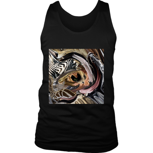 Animal Tunnel Men's Tank - Jud Hayden Art