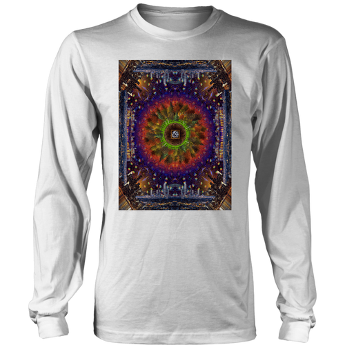 Concrete Skies Long Sleeve Shirt - Jud Hayden Art