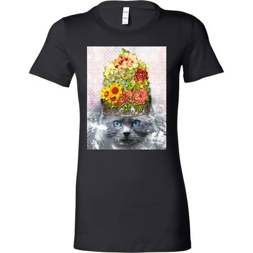Finest Feline Women's Shirt - Jud Hayden Art