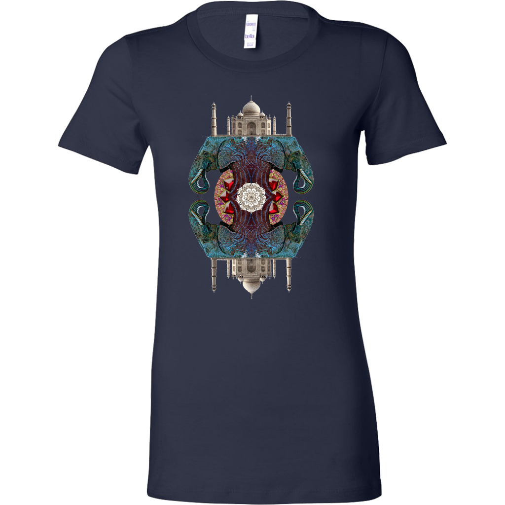 Essence Of India Women's Shirt - Jud Hayden Art