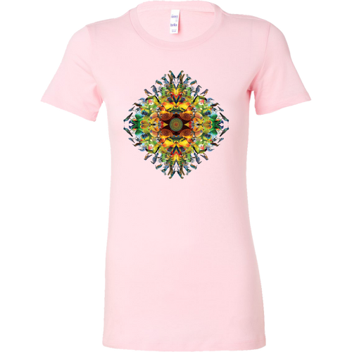 Bird Mandala Women's Shirt - Jud Hayden Art
