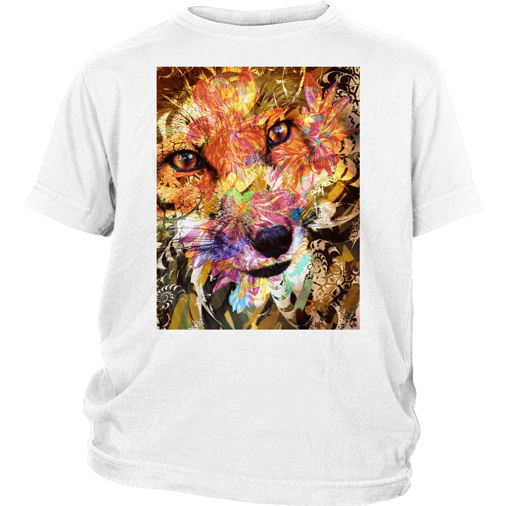 Sly Fox Youth Tee - Jud Hayden Art