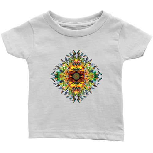 Bird Mandala Infant Tee - Jud Hayden Art