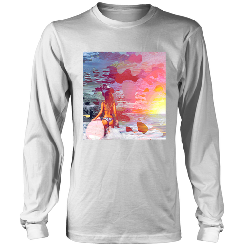 Ocean Motion Long Sleeve - Jud Hayden Art