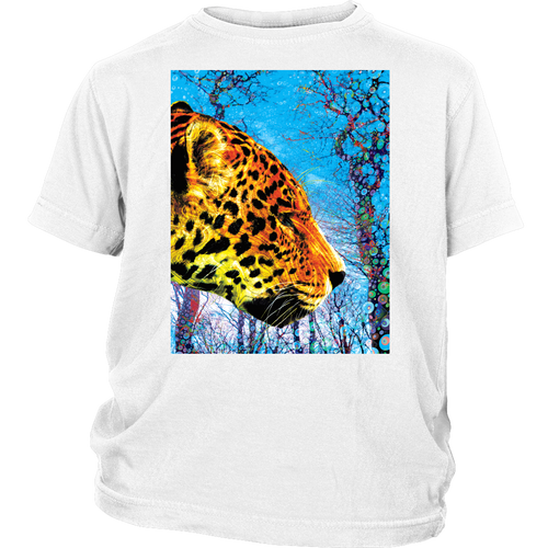 Prowling Paws Youth Tee - Jud Hayden Art