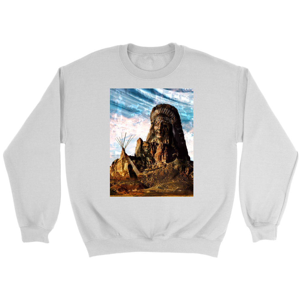 Tribal Breeze Sweatshirt - Jud Hayden Art