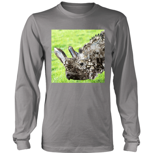 Crystal Rhino Long Sleeve - Jud Hayden Art