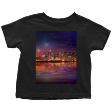 Dark As The Sky Toddler Tee - Jud Hayden Art