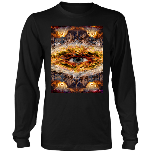 Eyecano Long Sleeve - Jud Hayden Art