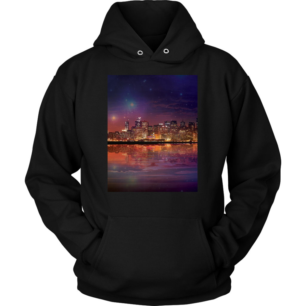 Dark As The Sky Hoodie - Jud Hayden Art