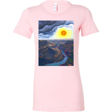 Ancient Canyon Women's Shirt - Jud Hayden Art