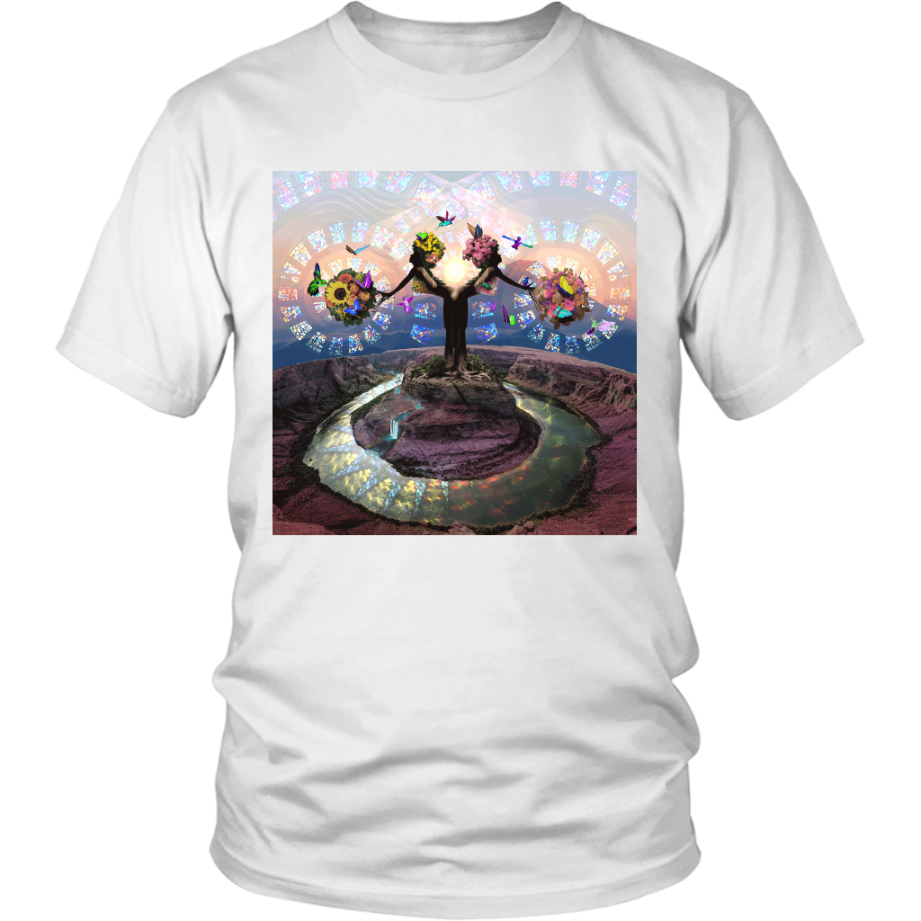 Full Bloom Tee - Jud Hayden Art