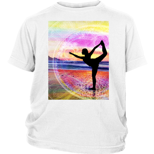 Natarajasana Youth Shirt - Jud Hayden Art