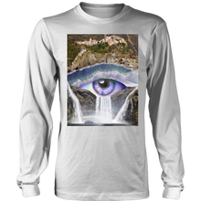 Iris Falls Long Sleeve - Jud Hayden Art