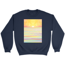 Pastel Sea Sweatshirt - Jud Hayden Art