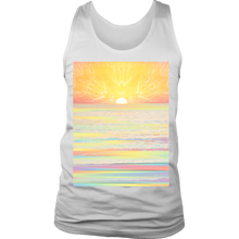 Pastel Sea Men's Tank - Jud Hayden Art