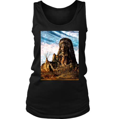 Tribal Breeze Women's Tank - Jud Hayden Art