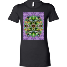 Lizard Mandala Women's Shirt - Jud Hayden Art
