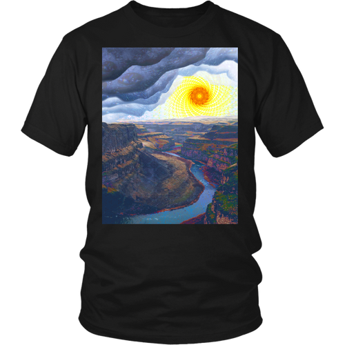 Ancient Canyon Tee - Jud Hayden Art