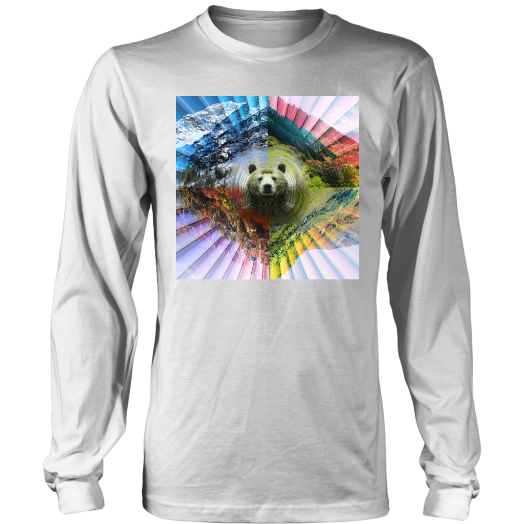 PLUR Bear Long Sleeve - Jud Hayden Art