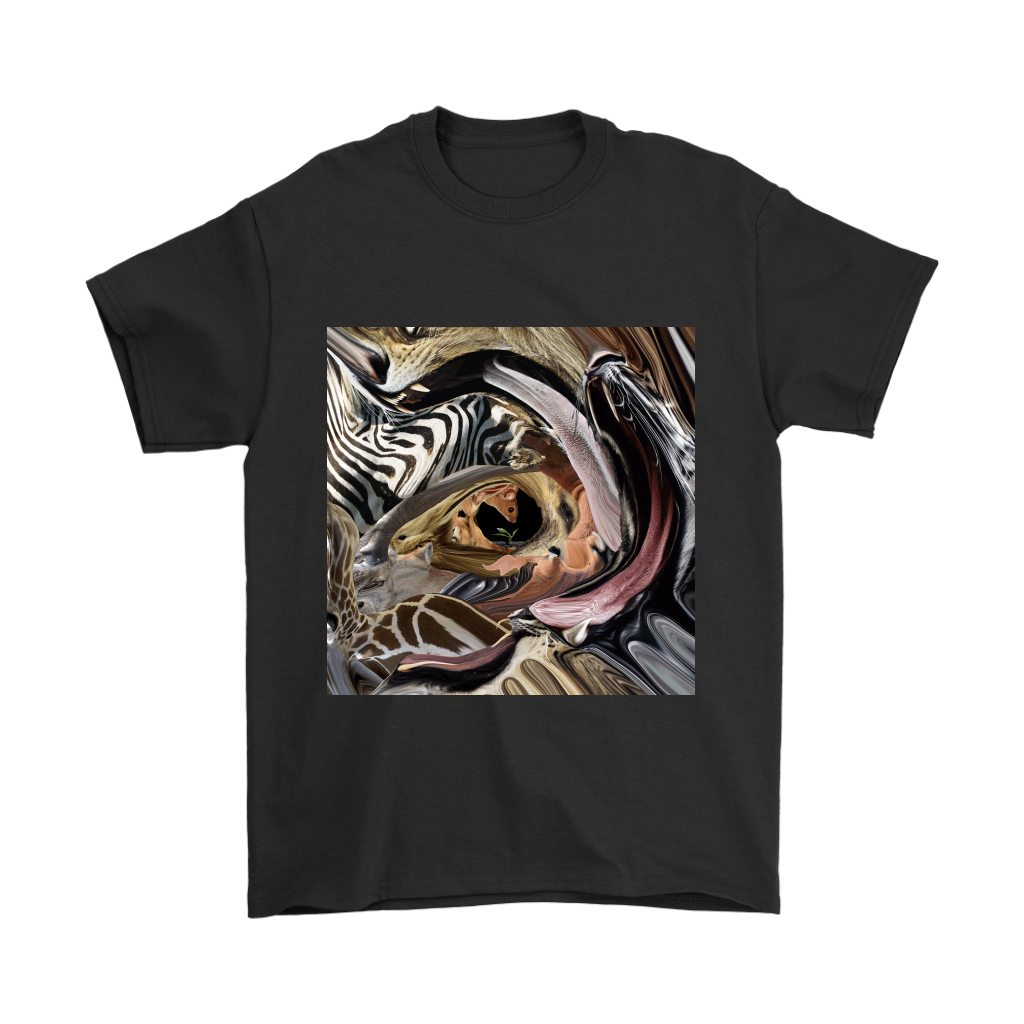 Animal Tunnel Men's Tee - Jud Hayden Art