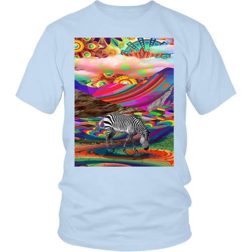 Rainbow Land Tee - Jud Hayden Art