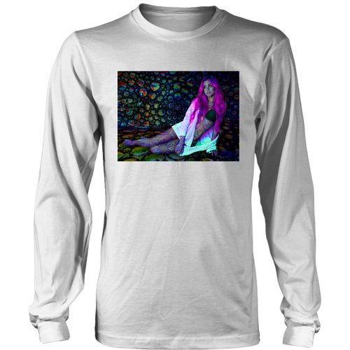 Neon Mirage Long Sleeve - Jud Hayden Art