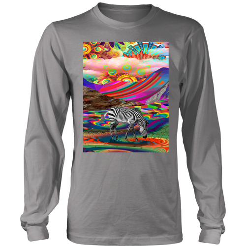 Rainbow Land Long Sleeve - Jud Hayden Art