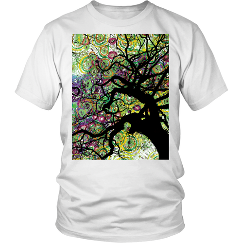 Radial Roots Tee - Jud Hayden Art