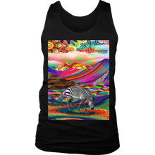 Rainbow Land Men's Tank - Jud Hayden Art