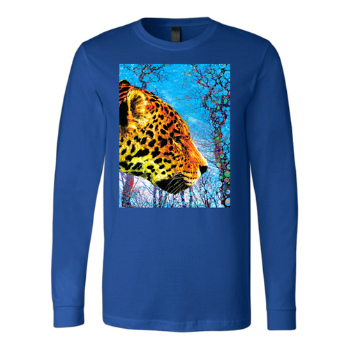 Prowling Paws Long Sleeve - Jud Hayden Art