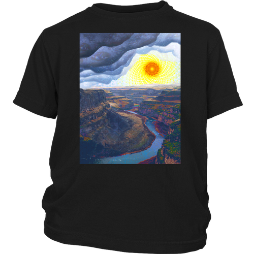 Ancient Canyon Youth Shirt - Jud Hayden Art