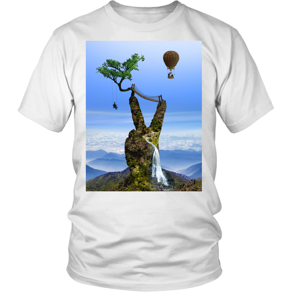 Serene Summit Tee - Jud Hayden Art