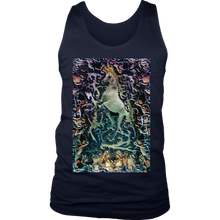 Horse King Men's Tank - Jud Hayden Art