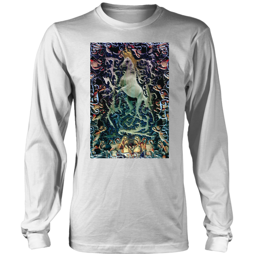 Horse King Long Sleeve - Jud Hayden Art