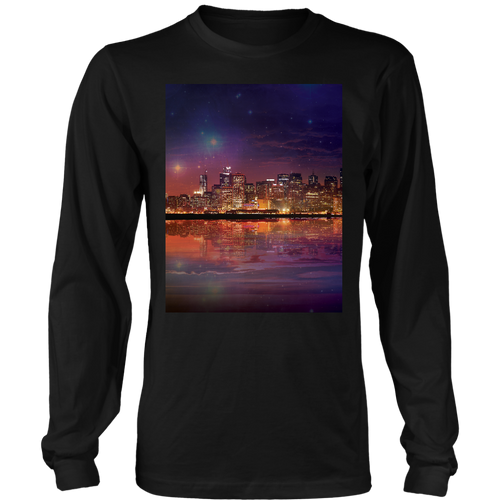 Dark As The Sky Long Sleeve - Jud Hayden Art