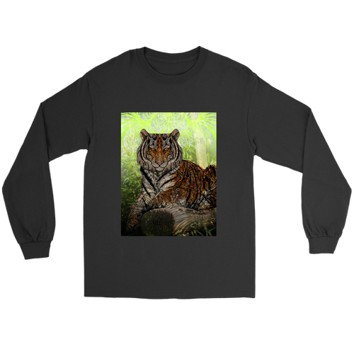 Paisley Tiger Long Sleeve - Jud Hayden Art