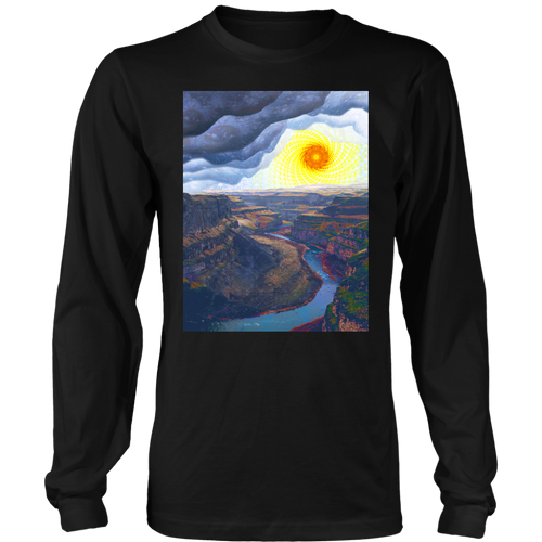 Ancient Canyon Long Sleeve - Jud Hayden Art