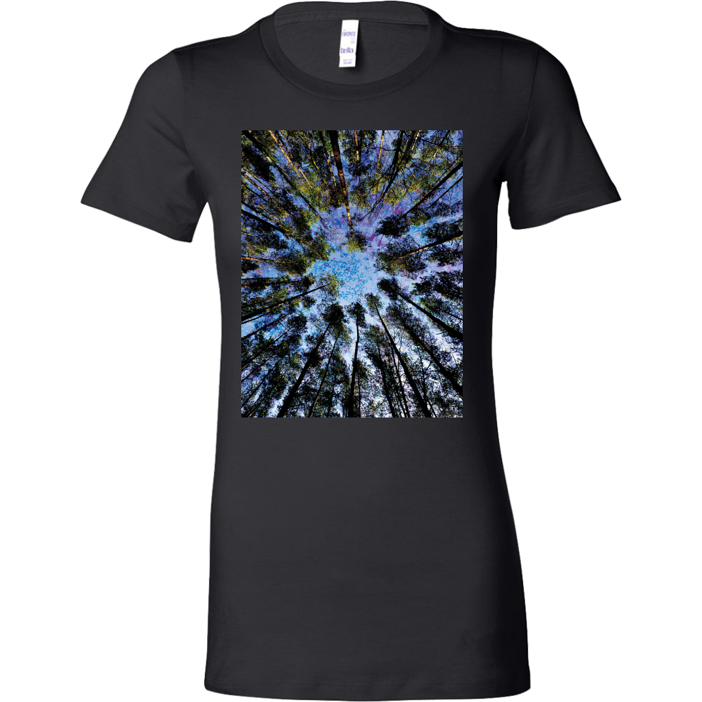 Trunk Vision Women's Shirt - Jud Hayden Art