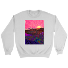 Trippy Trek Sweatshirt - Jud Hayden Art