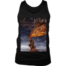 Thinker Men's Tank - Jud Hayden Art