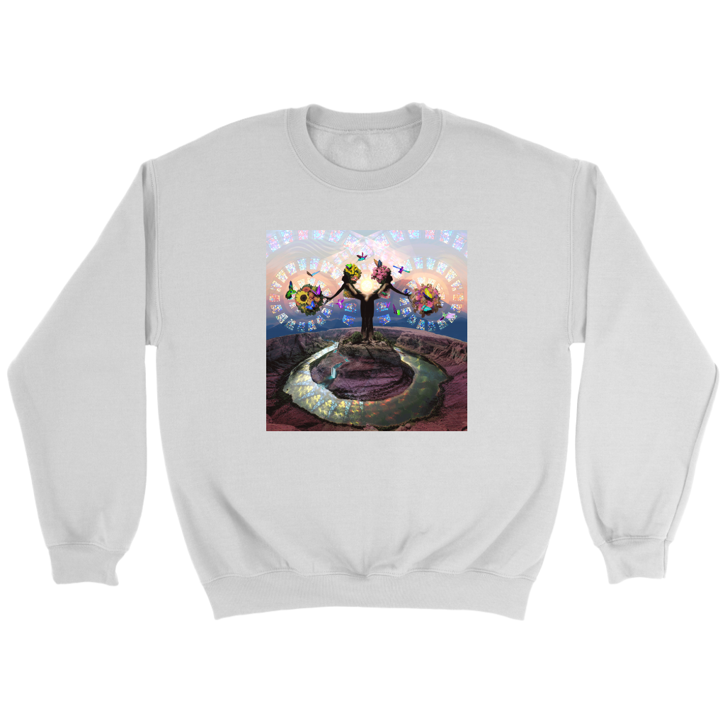Full Bloom Sweatshirt - Jud Hayden Art
