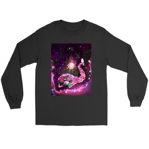 Galaxy Girl Long Sleeve - Jud Hayden Art