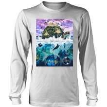 Turtle Island Long Sleeve - Jud Hayden Art