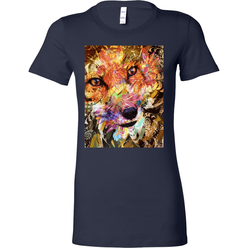 Sly Fox Women's Shirt - Jud Hayden Art
