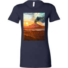 Lava Flow Women's Shirt - Jud Hayden Art