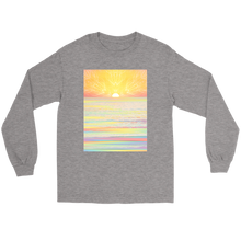 Pastel Sea Long Sleeve - Jud Hayden Art