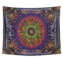 Concrete Skies Tapestry 2 - Jud Hayden Art