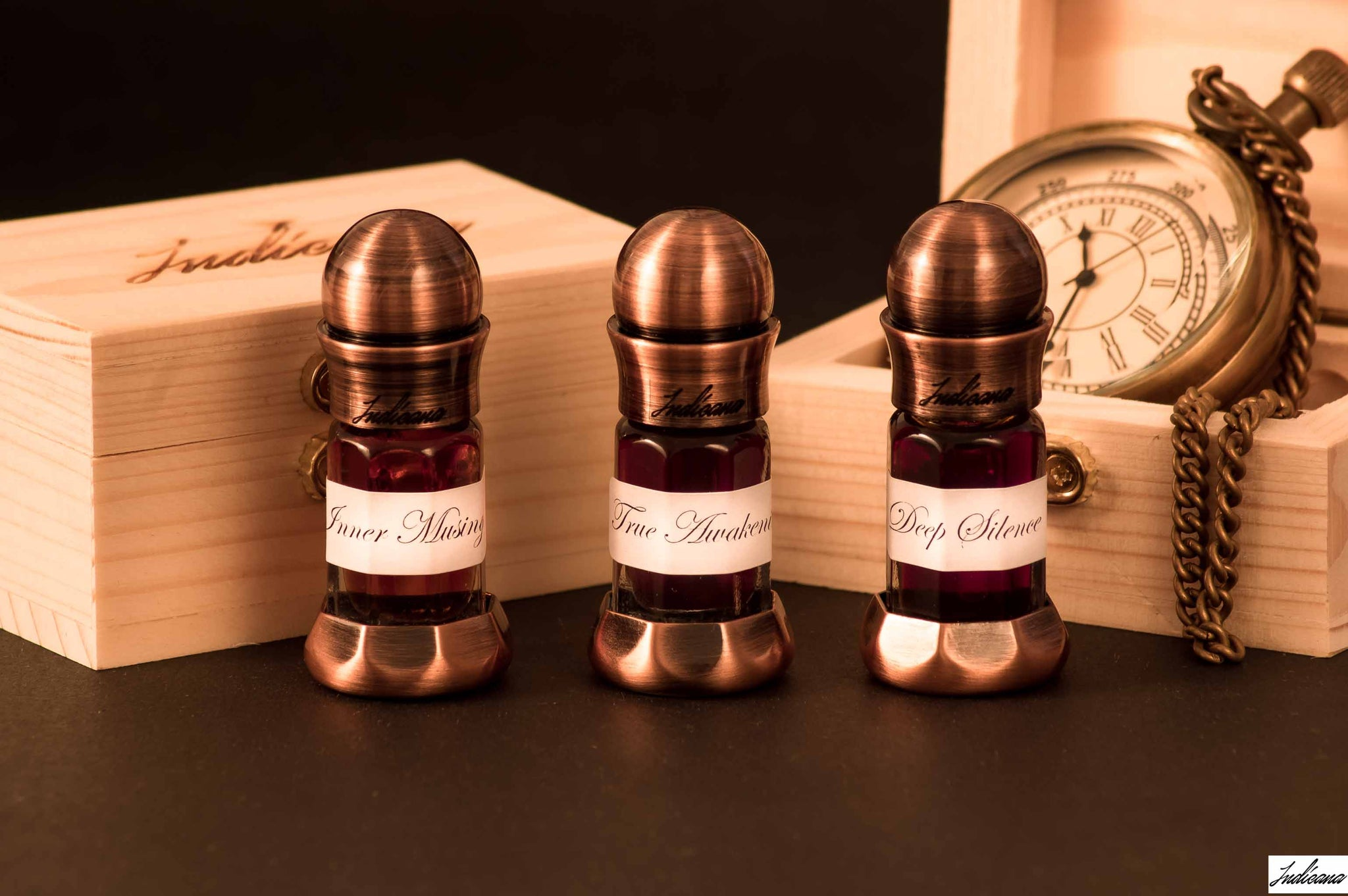 Pure Indian Agarwood Oils by Indicana Oud - Transcendental Oud Series from Assam India