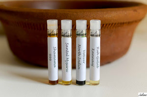 Samples of Essential  Oils and Attar